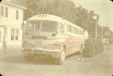 Virginia Trailways Acf/Brill Bus original slide
