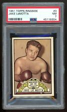 1951 Topps Ringside #3 Jake LaMotta PSA 7 NM #45116654