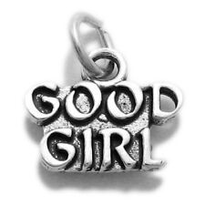 "925 Sterling Silver ""Good Girl"" Charm"