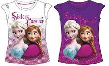 Disney Frozen camiseta nueva 98 - 128 Ana Elsa con Brillo