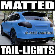 Black-Out Matte Taillight Tint Smoked Head Fog Tail Light Vinyl Tinted Film C12