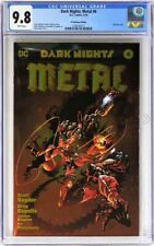Wonder Woman Dark Nights Metal #6 CGC 9.8 DC Boutique Edition Gold Foil Cover!