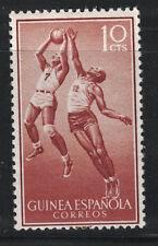 SPANISH GUINEA:1958 SC#351 MNH Basketball