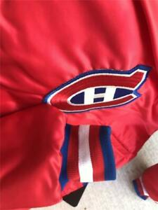 Amazing Vintage Montreal Canadiens Starter Jacket NHL Hockey MEDIUM
