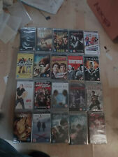PSP UMD Movies  x 20 new & sealed including Harry Potter Deathley 1 & 2 (box 89)