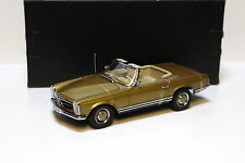 1:18 NOREV MERCEDES 230sl pagode w113 Gold NEW chez premium-MODELCARS