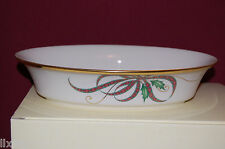 Lenox HOLIDAY Nouveau Ribbon Open Vegetable Bowl NEW in Box USA $186 1stQ 826658