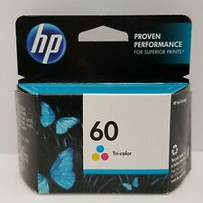 HP 60 Inkjet Print Cartridge Tri-Color Expired June 2015 New Sealed