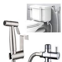 Weiße Handwindelsprühgerät Sprinkler Dusche Bidet Schlauchhalter Toilette Bad