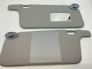 Fit For Honda Civic 1996-2001 Interior Sunvisor Pair Gray Color LHD