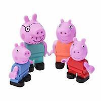 "BIG 800057113 ""Bloxx Peppa Pig Family Figure Set"