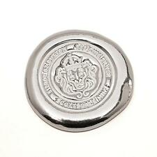 5 oz Scottsdale Silver Button .999 Fine Silver Bullion #A264