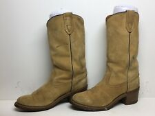 WOMENS WOLVERINE SUEDE IVORY  BOOTS SIZE 7.5 N