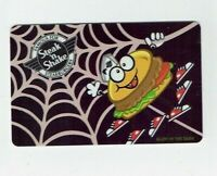 Steak 'n Shake Gift Card - Halloween / Spider Burger, Glow in Dark - No Value