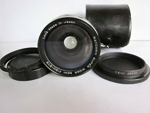 RayDawn Super Wide Semi Fish-eye Auxiliary Lens Ser VII 55-52mm Adapter ring