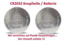 2x CR2032 Lithium Knopfzelle 3V - Doppelpack ->Plastikverpackung <-NEIN Danke <3
