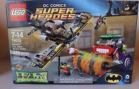 Lego DC Comics Super Heroes Batman The Joker Steam Roller #76013 486 Pieces NEW