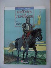 JUILLARD  /   LES  7  VIES  DE  L' EPERVIER    3    EO    1986     NEUF