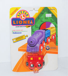 1999 Little Lionel Preschool Vintage Train Caboose Red Compatible W/ Brio Rare