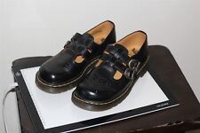 Dr Martens 8065 Womens Work Shoes Black Mary Jane Leather 7 US 6 UK Womens