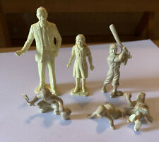 Rare Vintage Marx Set Of 6 Figures, Father Sister, Baby Children