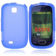 Custodia in Silicone Bulk Blue/Blu x Samsung Galaxy Next (Mini GT-S5570)