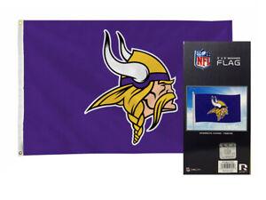 Minnesota Football Vikings 3x5 Banner Flag with grommets for hanging