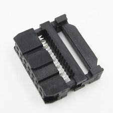 10PCS 14Pin 2.54mm Pitch IDC FC Female Header Socket connectors 14Pin FC-14