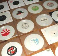"WHITE COLOURED VINYL SINGLES 45RPM 7"" VINYL RECORDS EX. COND SOME BRAND NEW"