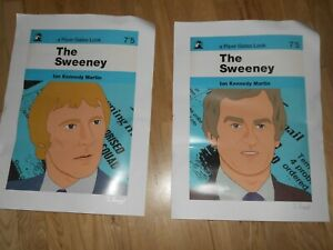The Sweeney - Pair of Signed I Percival Piper Gates Look A3 Prints