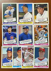 2020 Topps Archives SP 1976 TRADED SET (10 Cards) #316-325 Sandberg-Cabrera+++