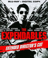 The Expendables (Blu-ray Disc, 2011, Ext Directors Cut Includes Digital Sealed
