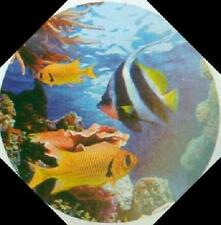 Jasco Blue Tropical Fish Projection Night Light Wall Ceiling for Boys and Girls