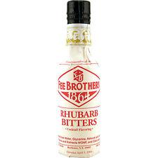 Fee Brothers Rhubarb Cocktail Bitters - 5 oz - Drink Mixology Bar Pub Flavor Mix