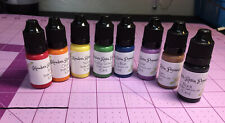 8 Primary Colors Liquid Epoxy Resin Colorant Only 10ml Each Bottle