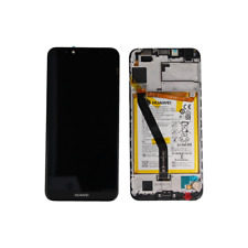 TOUCH SCHERMO VETRO LCD DISPLAY FRAME ORIGINALE Huawei Y6 2018 HONOR 7A NERO