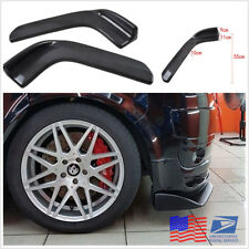 1 Pair Carbon Fiber Car Spoiler Canards Front Bumper Lip Splitter Auto Accessory