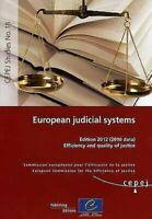 Europeo Judicial Sistemas: Eficiencia Y Calidad De Justicia Consejo De Europa