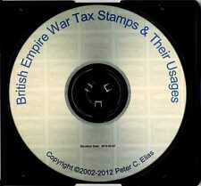 Usages of British Empire War Tax Issues (ebook on CD-ROM, direct from author)