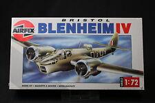XK158 AIRFIX 1/72 maquette avion BRISTOL BLENHEIM IV Ref 02027 serie 2 1990 NB