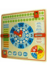 Calendrier Tissu Educatif.Calendrier Enfant Dans Jeux Educatifs Ebay