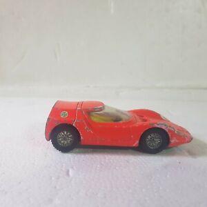 Vintage Dinky Alfa Romeo osi scarabeo orange  1:43