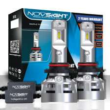 NOVSIGHT 10000LM 9006 HB4 LED Headlight Conversion Light Bulbs Upgrade Version