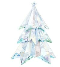 Swarovski Crystal Mint Figurine Large Aurora Borealis Christmas Tree 5223605 MIB