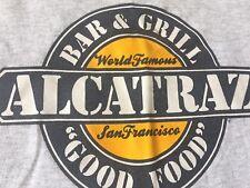 "VTG. LEE ALCATRAZ Bar N Grill ""GOOD FOOD"" Pier 39 San Francisco Adult T-shirt L"