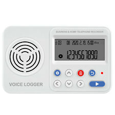 8GB-128GB Grabadora de Voz Digital Registrador de llamadas telefónicas disparador de tensión de línea fija