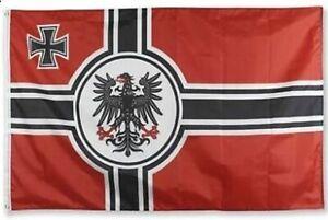 Preußen Flagge 150x90cm Fahne Reichskriegsflagge Deutsches Reich Wehrmacht rot