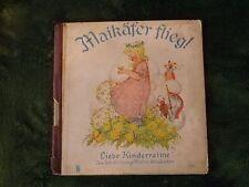 Maikäfer flieg ! Liebe Kinderreime Jos.Scholz,Verlag Mainz-Wiesbaden -selten