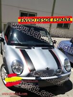 Kit Vinilos Adhesivas Capo maletero laterales Mini Cooper S One John Works