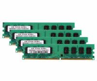 8GB 4X 2GB PC2-5300U DDR2 667MHz 2Rx8 240pin Desktop Memory RAM DIMM Intel @ST